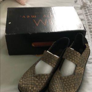 Bernie Mev wedge shoes